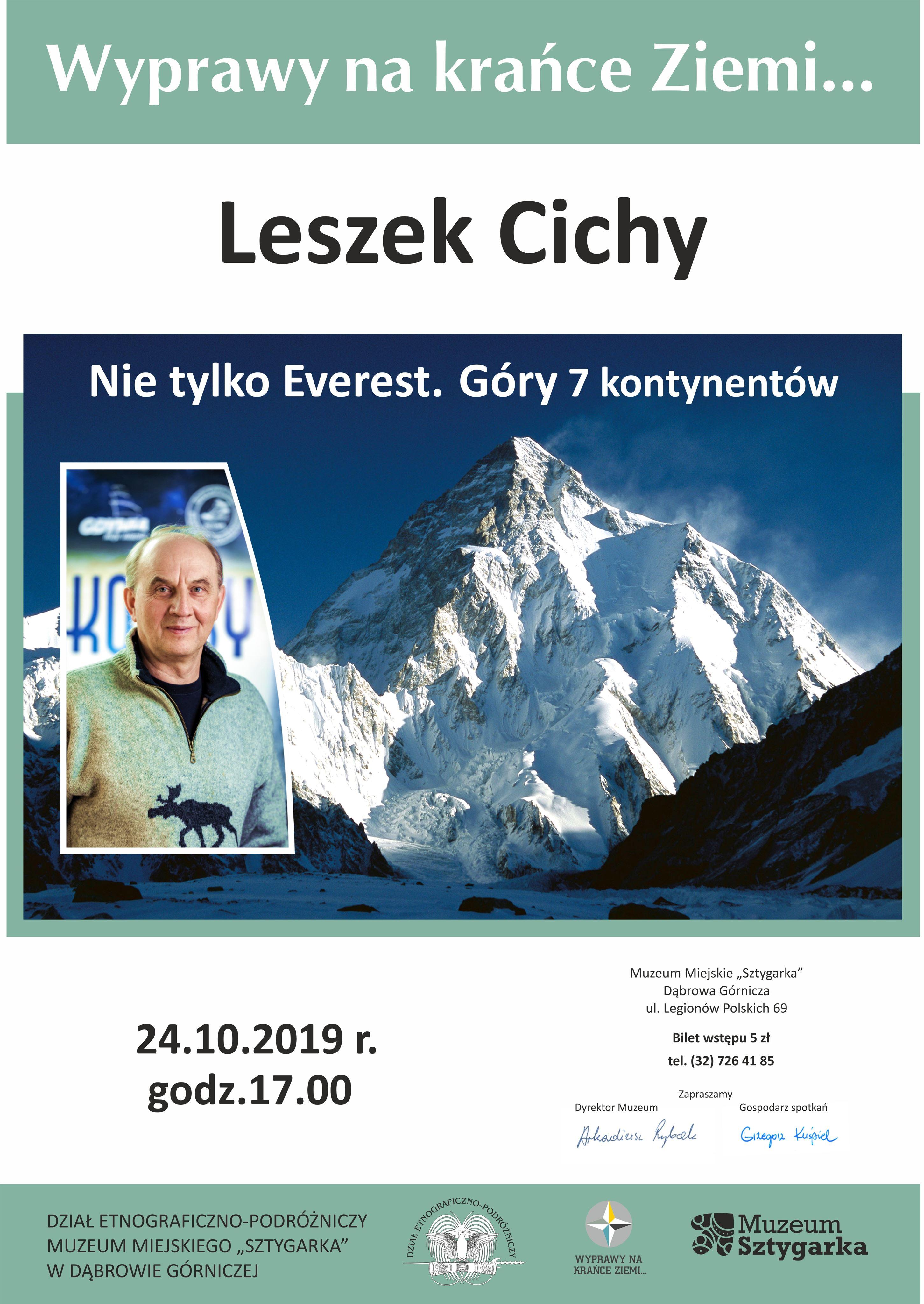 You are currently viewing Wyprawy na krańce Ziemi…-Leszek Cichy